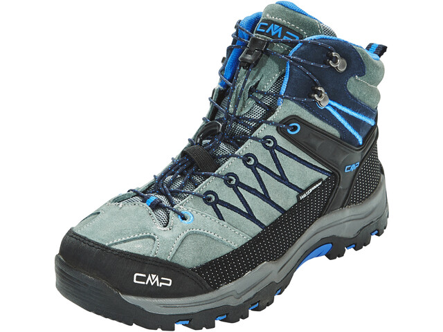 CMP Campagnolo Junior Rigel Mid WP Trekking Shoes Grey-Zaffiro